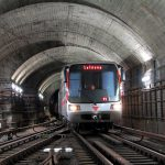 Souprava metra na trase C. Foto: DPP