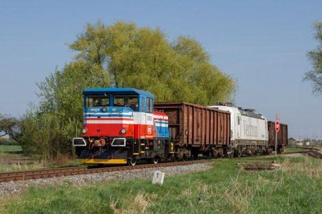 Lokomotiva EffiShunter 3000. Foto: CZ LOKO