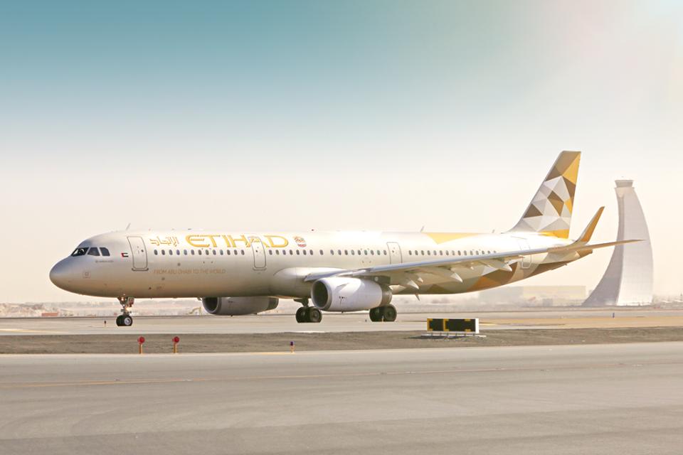 Letadlo společnosti Etihad Airways. Foto: Etihad Airways