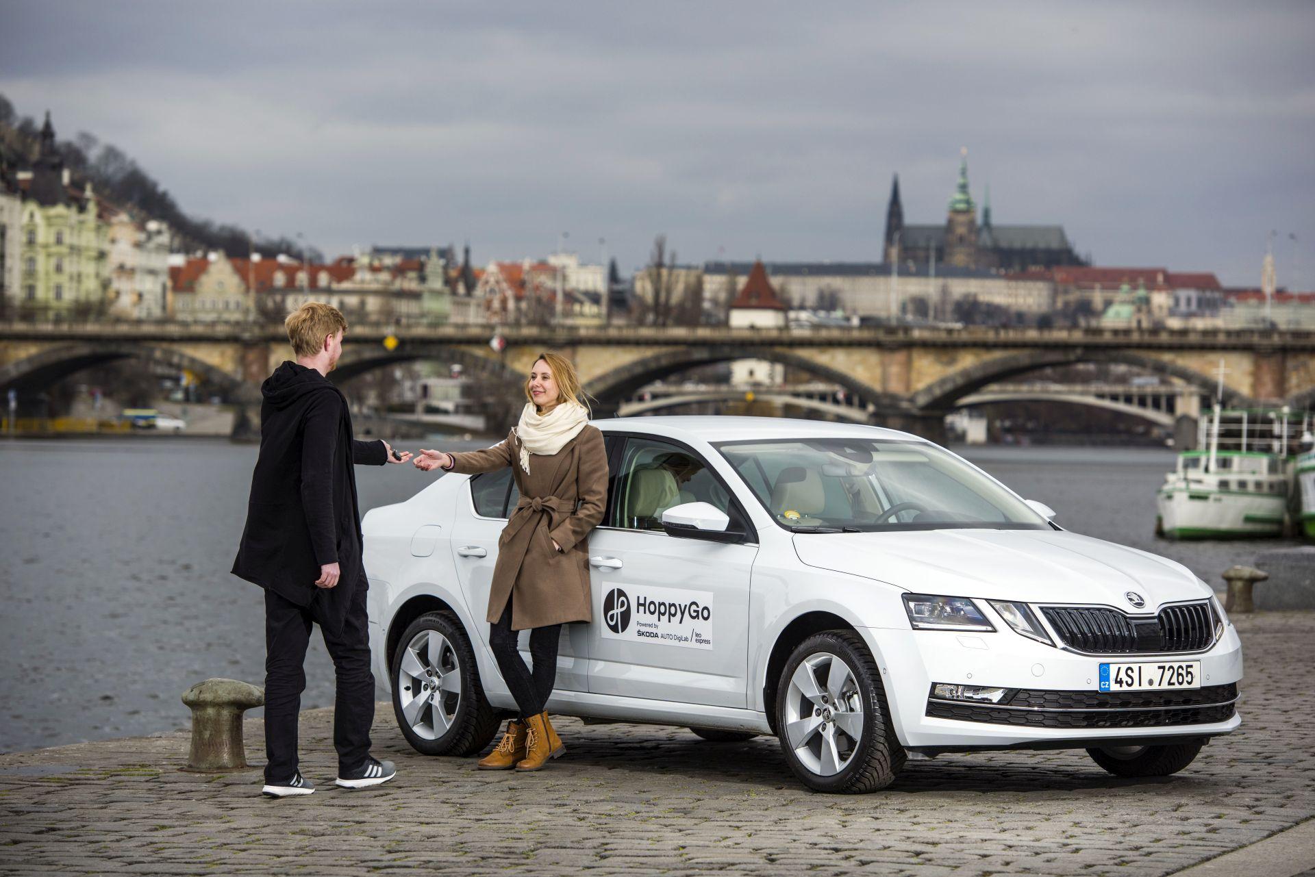 Nový společný podnik Škody Auto a Leo Express bude pod značkou HoppyGo. Foto: Škoda Auto