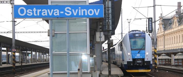 Výsledek obrázku pro moravskoslezský kraj železnice