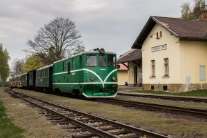 Osobní vlak na trati Jindřichův Hradec - Nová Bystřice. Foto: JHMD