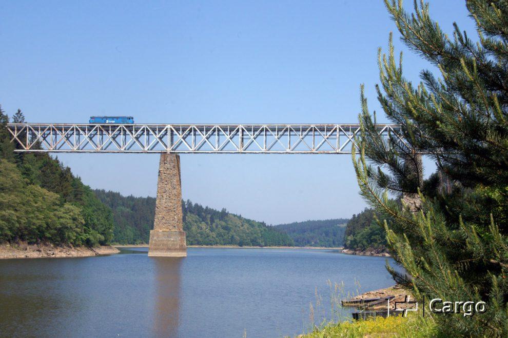 Most přes Vltavu na trati Tábor - Písek. Autor: ČD Cargo