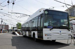 Nový trolejbus Škoda 30Tr SOR pro Pardubice. Foto: DPMP