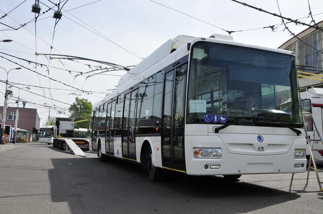 Nový trolejbus Škoda 30Tr SOR. Foto: DPMP
