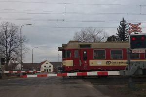 Přejezd na 4. koridoru v Českých Budějovicích. Autor: Zdopravy.cz/Jan Šindelář