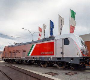 Nová lokomotiva Traxx DC3 pro stejnosměrné napájecí soustavy. Foto: Bombardier
