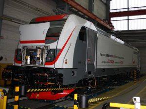 Výroba lokomotivy Traxx MS3 v Kasselu. Foto: Bombardier