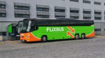 Autobus VDL Futura FHD2 v barvách FlixBus na Florenci. Foto: Jan Sůra