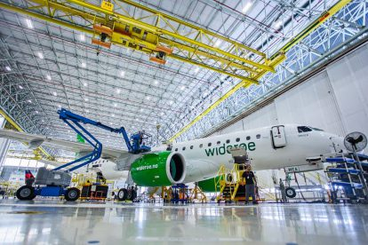 Norské regionální aerolinky Widerøe jsou prvním zákazníkem pro nové letadlo E190-E2. Foto: Embraer