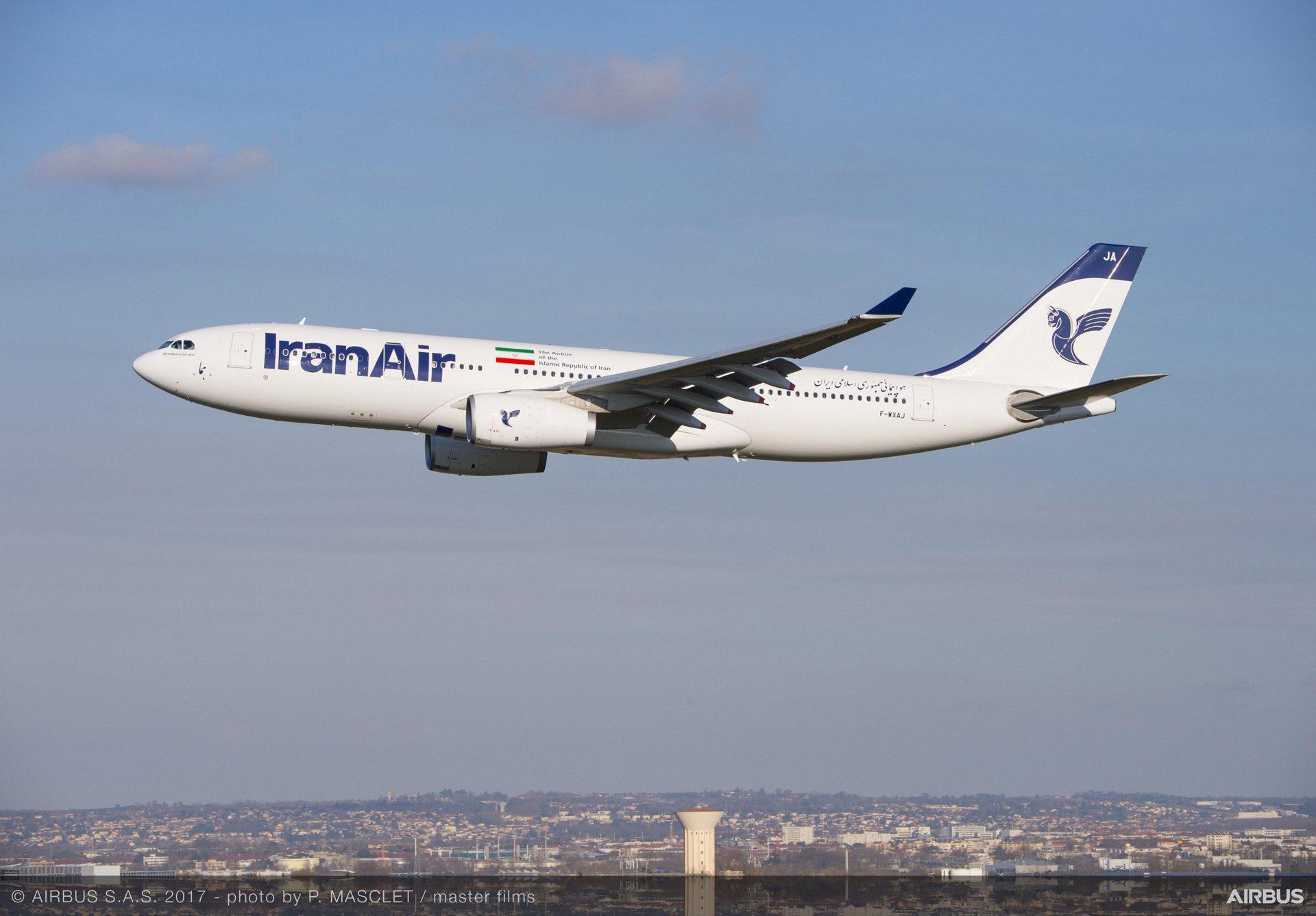 A330-200 pro Iran Air. Foto: Airbus