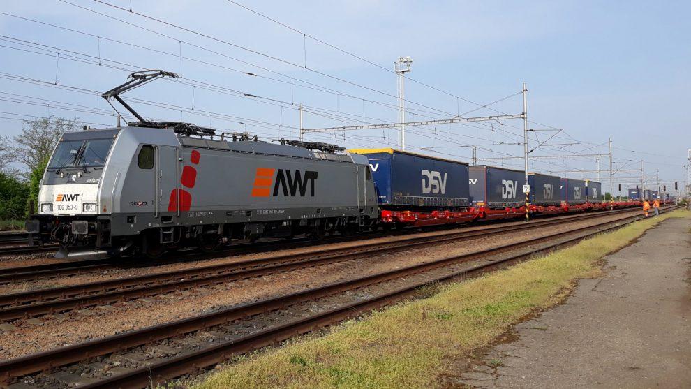 Vlak AWT. Autor: AWT