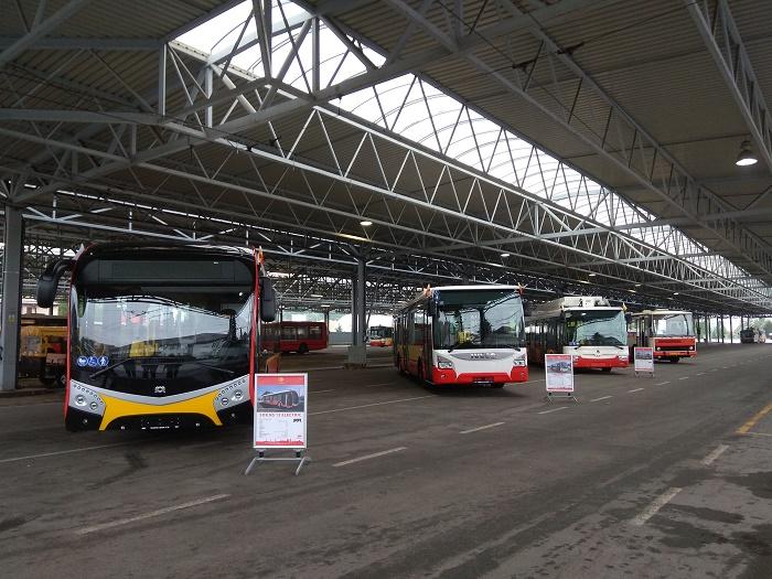 MHD Hradec Králové, představení nových vozidel. Autor: DPmHK