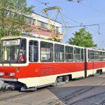 Postupimská tramvaj KT4D. Autor: DPP