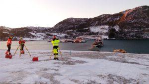 Metrostav staví most přes jeden z norských fjordů. Autor: Metrostav