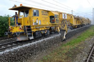 Pluh BDS-2000. Autor: Swietelsky Rail