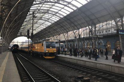 Traxx RegioJetu před první jízdou. Autor: Zdopravy.cz/Josef Petrák