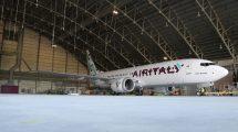 Boeing 737 MAX v barvách Air Italy. Foto: Air Italy