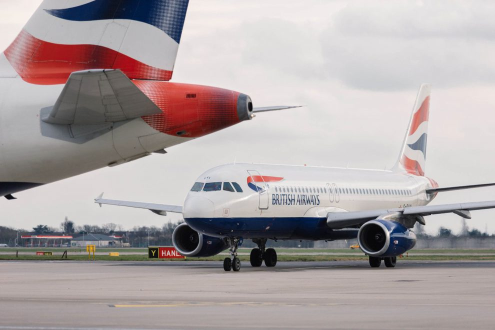 Airbus A320 společnosti British Airways. Foto: Stuart Bailey - British Airways