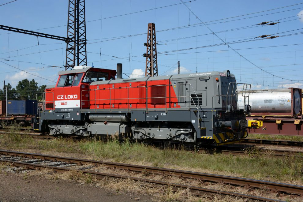 Lokomotiva EffiShunter700. Foto: CZ LOKO