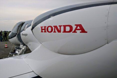 Maximální rychlost HondaJetu je 778 kilometrů za hodinu. Foto: Jan Sůra
