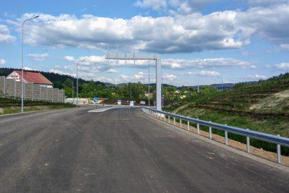 Nová silnice před Jabloncem nad Nisou. Foto: Jan Sůra