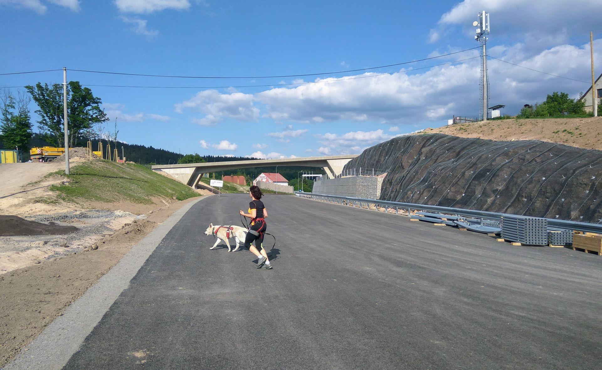Nová silnice I/14 zkrátí cestování mezi oběma městy o několik minut. Foto: Jan Sůra