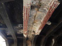 Detaily stavu Libeňského mostu. Foto: TSK