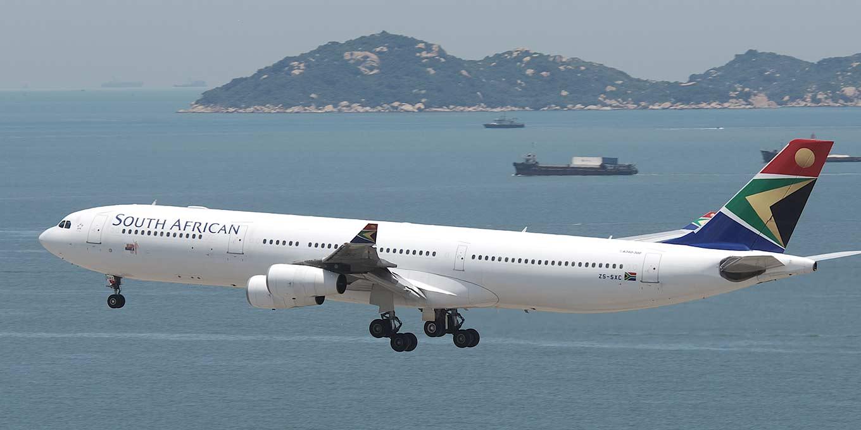 Airbus A340 společnosti South African Airways. Foto: Star Alliance