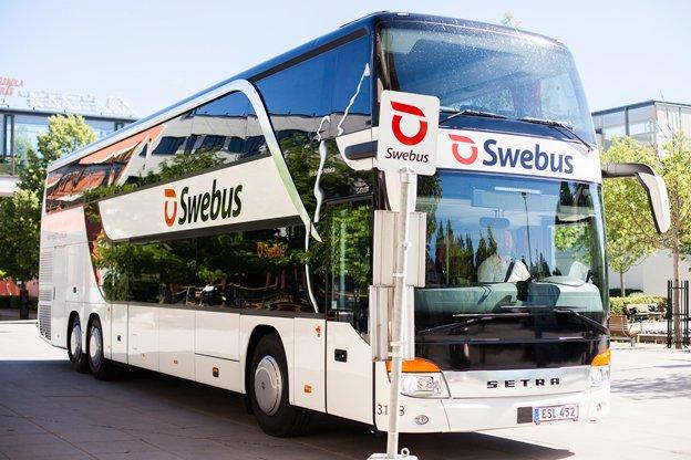 Autobus společnosti Swebus. Foto: SweBus
