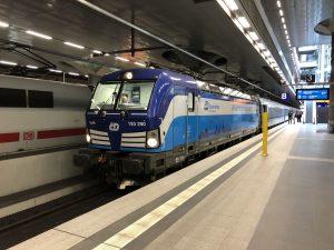 Siemens Vectron v barvách Českých drah poprvé v Berlíně. Foto: Ondřej Zaoral