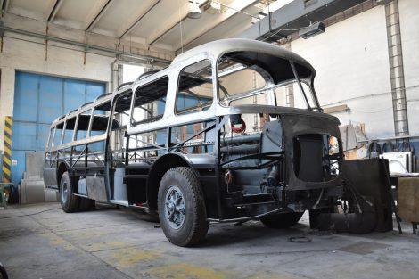 Rekonstrukce autobusu Škoda 706 RTO Lux. Foto: Arriva Morava