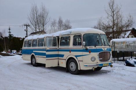 Autobus Škoda 706 RTO LUX v původním stavu. Foto: Arriva Morava