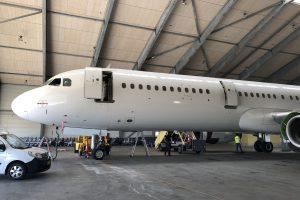 A321-200 registrace OY-RUU, který bude létat pro ČSA. Foto: ČSA