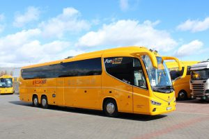 Autobus Irizar i8 v barvách RregioJetu. Autor: RegioJet