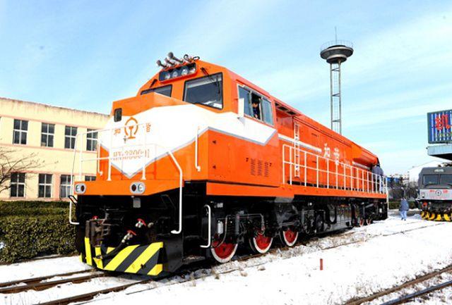 Diesel-elektrická lokomotiva CRRC, ilustrační foto. Pramen: CRRC
