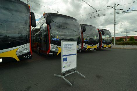 Nová vozidla MHD Hradec Králové. Autor: DPMHK