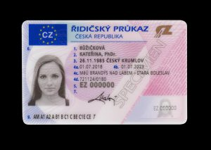 Řidičský průkaz. Zdroj: MDČR