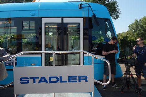 """Tramvaj Tango NF2 """"nOVA"""" od výrobce Stadler. Autor: Zdopravy.cz/Jan Šindelář"""