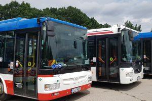 Nové kloubové autobusy SOR na CNG pro MHD Kladno. Autor: Arriva