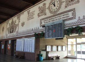 Nádraží Veselí nad Moravou. Autor: By Hynek Moravec [GFDL (http://www.gnu.org/copyleft/fdl.html) or CC BY 3.0 (https://creativecommons.org/licenses/by/3.0)], from Wikimedia Commons