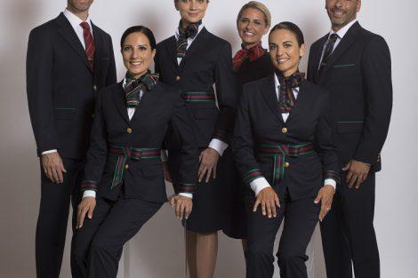 Návrh nových uniforem. Foto: Alitalia