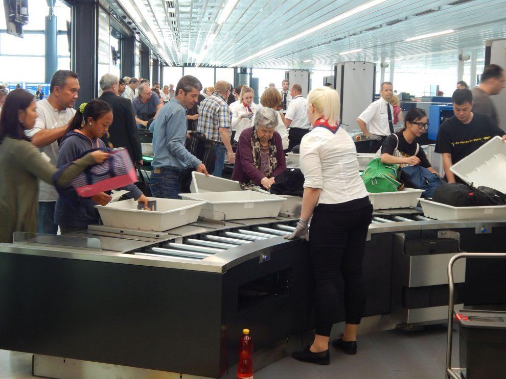 Nové kontrolní stanoviště Letiště Praha v Terminálu 2. Autor: Zdopravy.cz/Jan Šindelář