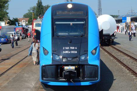 ELF 2 od výrobce Pesa Bydgoszcz v Ostravě. Autor: Zdopravy.cz/Jan Šindelář