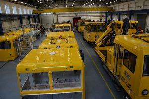 Sériová výroba MUV 75 v továrně CZ LOKO v Jihlavě. Autor: CZ LOKO