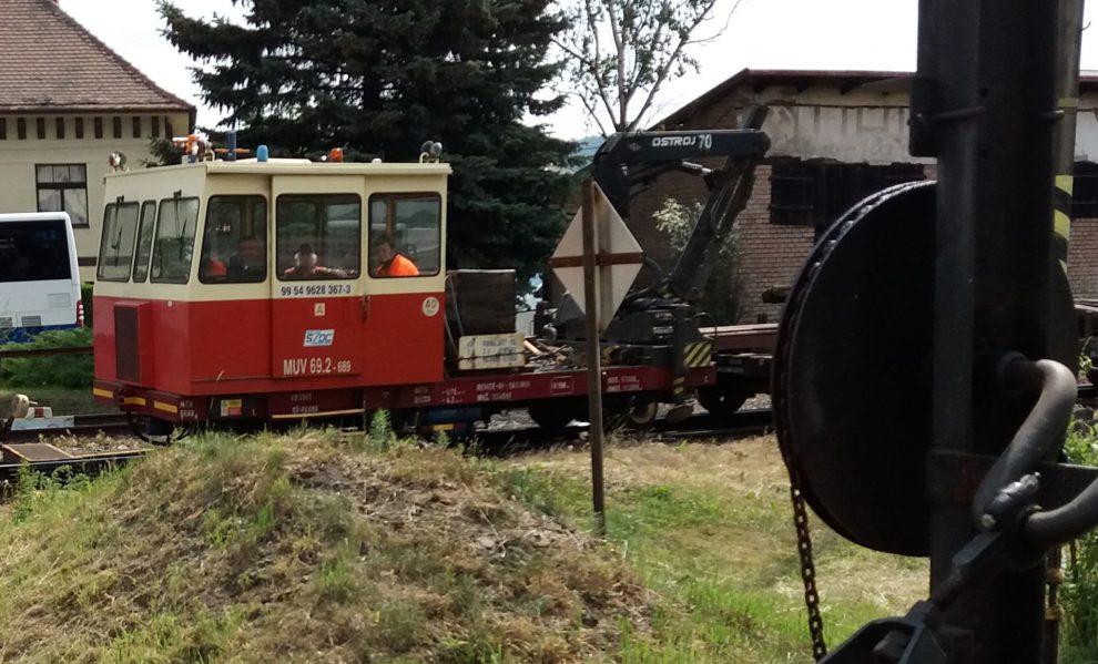 Drezína MUV 69 z vozového parku SŽDC. Autor: Zdopravy.cz/Jan Šindelář
