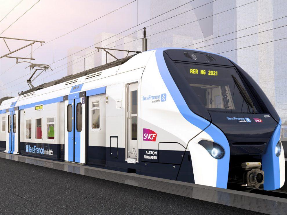 Podoba nových jednotek RER NG pro provoz v okolí Paříže. Foto: SNCF