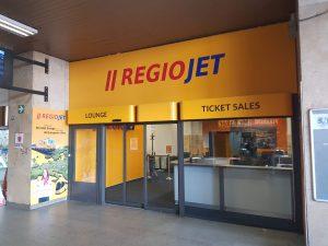 Nová čekárna RegioJet Lounge v Brně. Foto: RegioJet