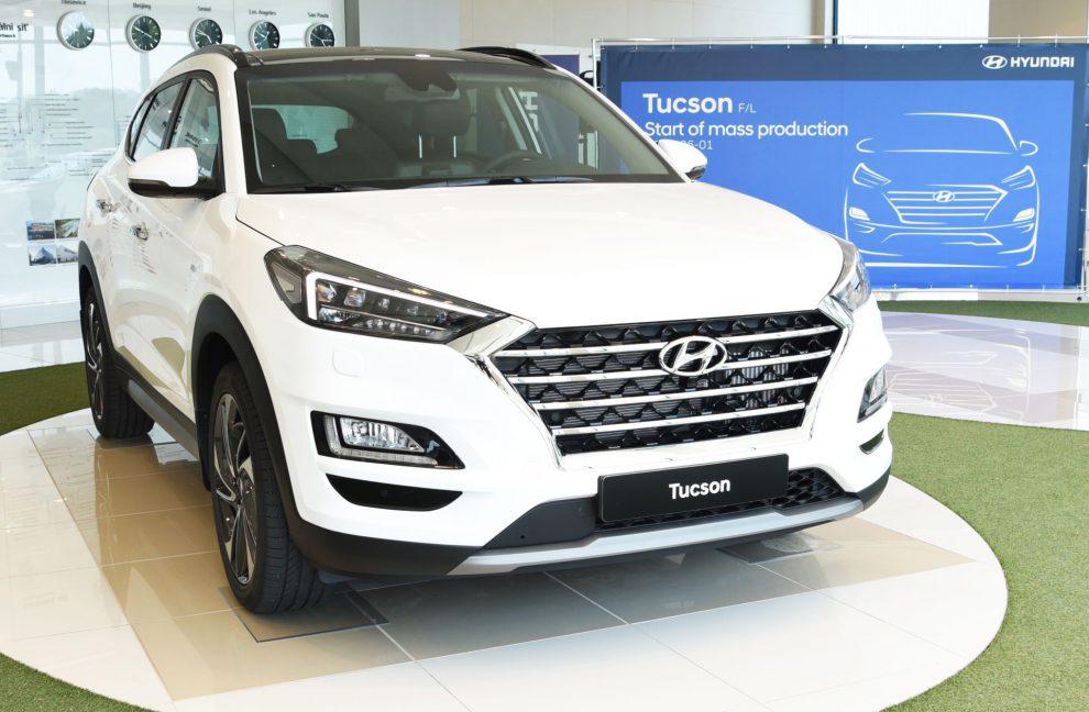 Nový Hyundai Tucson po zahájení sériové výroby. Foto: HMMC