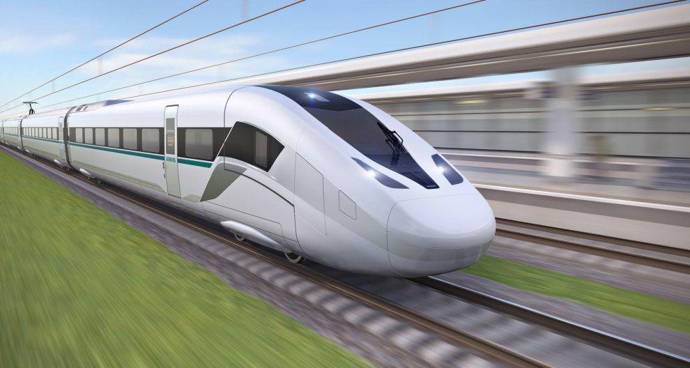 Vizualizace nového vlaku Siemens Velaro Novo. Foto: Siemens